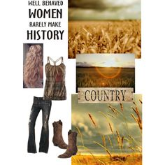 Well behaved woman!, created by knturner on Polyvore