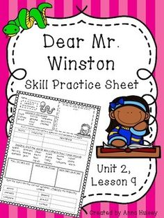 Me and uncle romie skill practice sheet homework sheet skill practice or homework sheet for journeys fourth grade dear mr winston fandeluxe Gallery