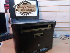 Was steckt alles in einem Laserdrucker - YouTube Arcade Games, Outdoor Decor, Youtube, Laser Printer, Recyle, Work Shop Garage, Printing, Crafting, Youtubers