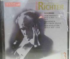 Sviatoslav Ritcher Edition Schumann Volume 3 Sealed 13 Track Import CD Album