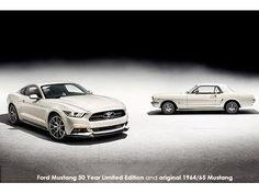 Ford pays homage to five decades of the world's favourite pony car with Mustang 50 Year Limited Edition Click image to read full article.