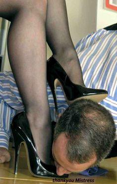 High heel femdom sub boys