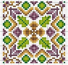 no color chart available, just use the pattern chart as your color guide. or choose your own colors. Biscornu Cross Stitch, Cross Stitch Heart, Cross Stitch Borders, Cross Stitch Designs, Cross Stitching, Cross Stitch Embroidery, Cross Stitch Patterns, Art Perle, Blackbird Designs