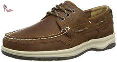 Sebago Brice Three Eye, Chaussures Bateau Homme, Marron - Brown (Walnut Leather), 41.5 EU - Chaussures sebago (*Partner-Link)