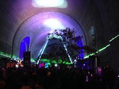 Brooklyn Bridge , NYC Light Festival, Nov 2014