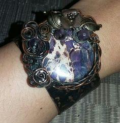 Handmade jewerly#copperwire#bracellet