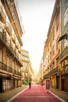 Rua Cor de Rosa - Pink Street, José Adrião Arquitectos, Lisboa, Portugal © Fernando Guerra, FG+SG Architectural Photography