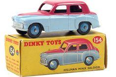 Hillman Minx Saloon, Dinky Toys N°154