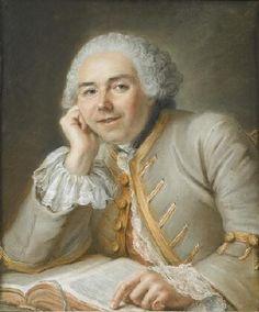 Portrait of a Man,1753  Guillaume Voiriot French, 1713-1799 Pastel on paper F.1983.19.P © The Norton Simon Foundation