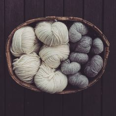 One of my favorite view Needle And Thread, Knitting Yarn, Fiber, Weaving, It Cast, Basket, Textiles, Throw Pillows, Shapes