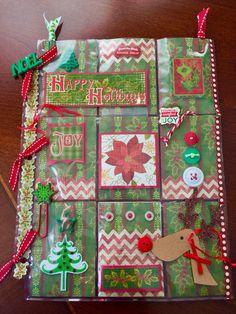 Pocket Letters ❤  Christmas Pocket Letter
