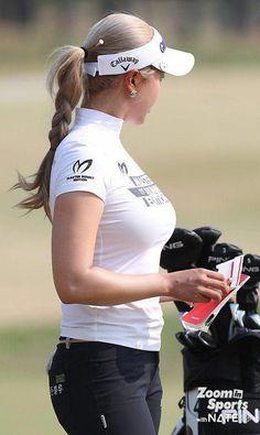 Surprising All About Ladies Golf Ideas. Unutterable All About Ladies Golf Ideas. Ladies Golf Clubs, Girls Golf, Sexy Golf, Female Athletes, Female Golfers, Perfect Golf, Golf Player, Golf Fashion, Ladies Fashion