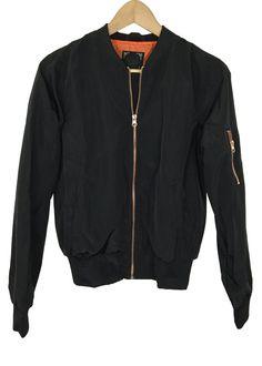 jane bomber jacket (black)