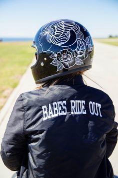 Follow My Vans: Christina Platis, Babes Ride Out Edition .