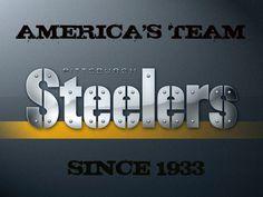 STEELER FOOTBALL since 1933...