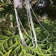 Chaine courte en argent 925 Artisanal, Plant Hanger, Macrame, Plants, Handcrafted Jewelry, Plant, Planting, Planets