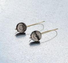 Coin Twirl Earrings