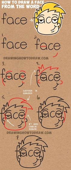 how-to-draw-cartoon-face-from-the-word.jpg (1000×2394)