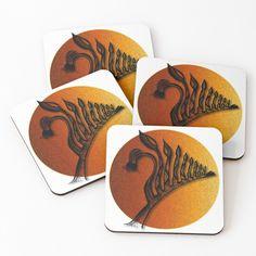 'Australian Kangaroo Paw' Coasters by Robyn-Lowit Kangaroo Paw, Iphone Wallet, Coaster Set, 4x4, My Design, Doodles, My Arts, Cold, Art Prints