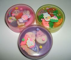 Collected erasers