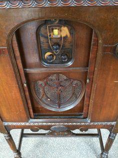 1929 American Bosch Console/Highboy Radio Model 48 by Shabadashery