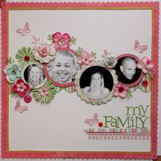 Afbeelding Photo Layouts, Scrapbook Page Layouts, Scrapbook Cards, Scrapbooking Ideas, Kids Scrapbook, Scrapbook Templates, Scrapbook Designs, Wedding Scrapbook, Scrapbook Sketches