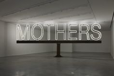 Work No. 1092.Mothers by Martin Creed
