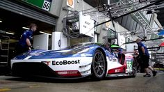 Get a look at the new Ford GT racecar, inside and out, with Chip Ganassi Racing driver Richard Westbrook.