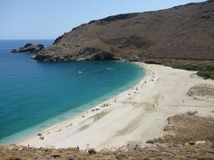 Achla, Andros, Cyclades, Greece This beach was beautiful.  The drive is to get there is breathtaking!   :)