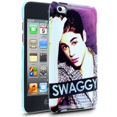 Cellairis by Justin Bieber Swaggy Pop Case for Apple iPod Touch 4 - www.cellairis.com - #JustinBieber #Belieber #Bieber - Celebrity iPhone Case