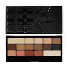 Makeup Revolution Eyeshadow Palette, Chocolate Vice. Makeup Revolution Eyeshadow Palette, Chocolate Vice. Color = Chocolate Vice. 16 matte and shimmer shades. Neutrals, browns and smoked shadows for every chocolate lover!. Full size mirror and foam applicator brush included.