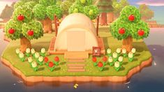 Animal Crossing Is Life — a simple campsite revamp can really do wonders – Game Room İdeas 2020 Camping Am See, Camping Set Up, Camping With Kids, Winter Camping, Animal Crossing Qr Codes Clothes, Animal Crossing Pocket Camp, Animal Crossing Game, Tiki Bars, Design Hotel