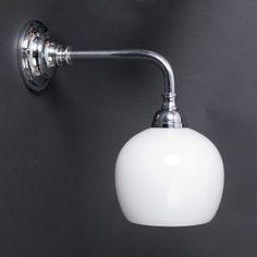 Badkamerlamp Douche met Chroom armatuur
