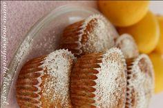 Muffiny cytrynowe z malinami