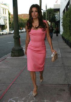 Eva Longoria Photos: Eva Longoria Pretty in Pink at Beso