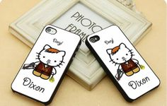 The Walking Dead kitty  FIT for iP4iP5 Samsung by CasebyMarsha, $14.00