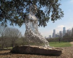 Jaume Plensa, Tolerance, 2011 (Buffalo Bayou Park, Houston)