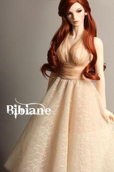 Love her, a plus size redhead doll! original pinner information: bibiane b type bjd-15.jpg 1/3 (whatever that means)
