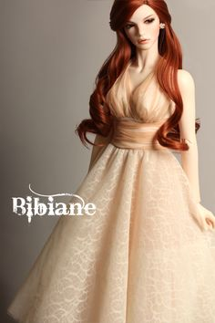 Love her, a plus size redhead doll! original pinner information: bibiane b type bjd-15.jpg 1/3 (whatever that means)