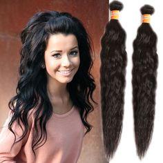 "10""-30"" Grade 6A 100% unprocessed NATURAL WAVE INDIAN virgin hair extensions hot #WIGISShair #NATURALWAVE"