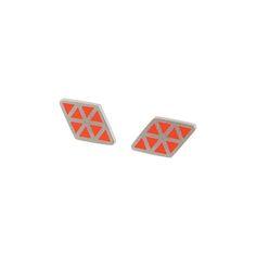 Iso+rhombe+stud+earrings, £74.00