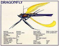 Spelljammer Ship - Dragonfly