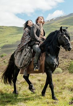 Does it ever stop? - outlander-news:     'Sometimes it's the journey...
