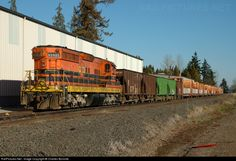 RailPictures.Net Photo: PNWR 1851 Portland & Western Railroad EMD SD9 at Corvallis, Oregon by Charles Bonville