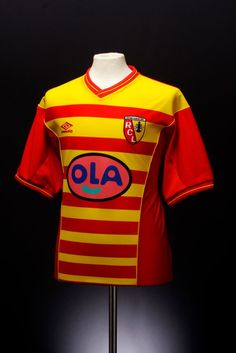2000 - 2001 Racing Club De Lens Home Football Shirt