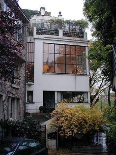 Maison Ozenfant, Paris by Le Corbusier