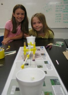After School Week 9// Our girls got the chance to be civil engineers for a day!