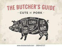 Pork Stock Vectors & Vector Clip Art   Shutterstock