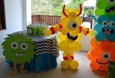 little monster birthday ideas Little Monster Birthday, Monster 1st Birthdays, Monster Birthday Parties, First Birthday Parties, Birthday Party Themes, First Birthdays, Birthday Bash, Birthday Ideas, Little Monster Party