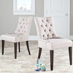 @Overstock - Marseille Chairs (Set of 2) cute for dining room table